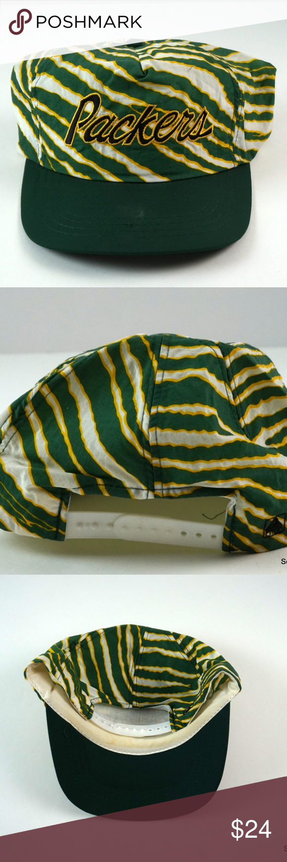 Vintage Nfl Green Bay Packers Snapback Hat Zubaz Vintage Nfl Green Bay Packers Snapback Hat Zubaz Style 90s Fashion Nfl Green Bay Nfl Accessories Snapback Hats