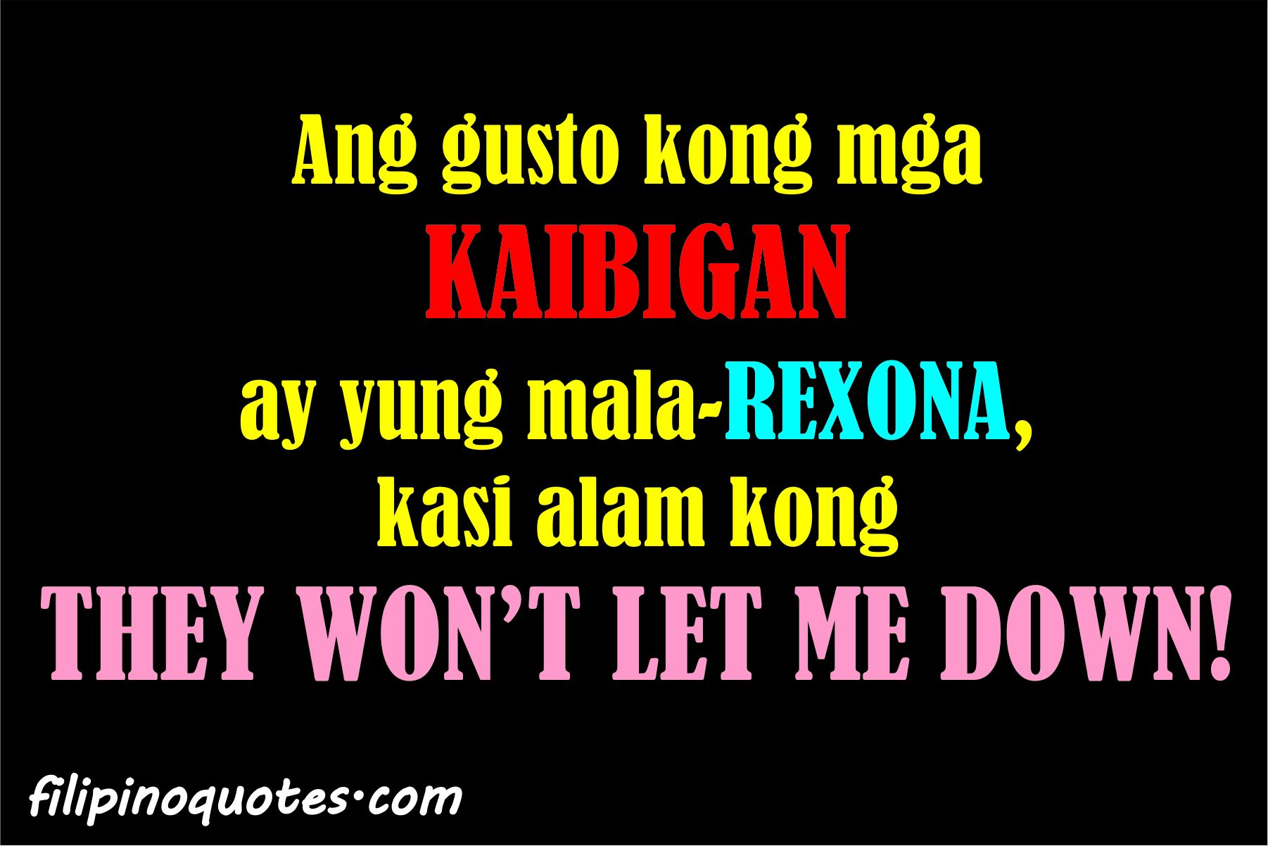 inspirational quotes for best friends tagalog tagalog life