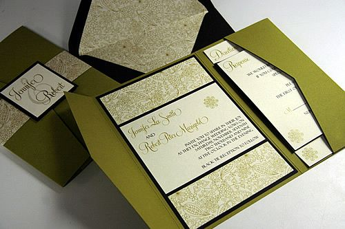 1000 images about Cards Pockets Creations – Pocket Invitation Card