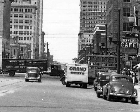 The Streets Of Houston In 1936 Houston Street Old Photos