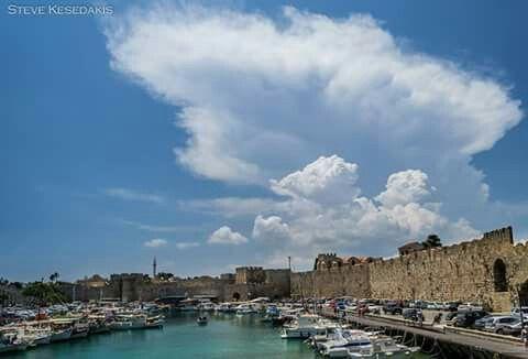 Rhodos island Greece