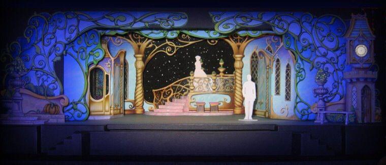 Castle Scenic Design Scene Design Stage Set