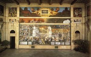Industrie Detroit - (Diego Rivera)