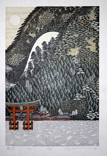 Morimura Ray - Itsukushima Shrine