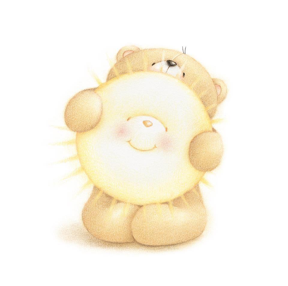 Доброе утро медвежонок картинки красивые, поздравительные открытки