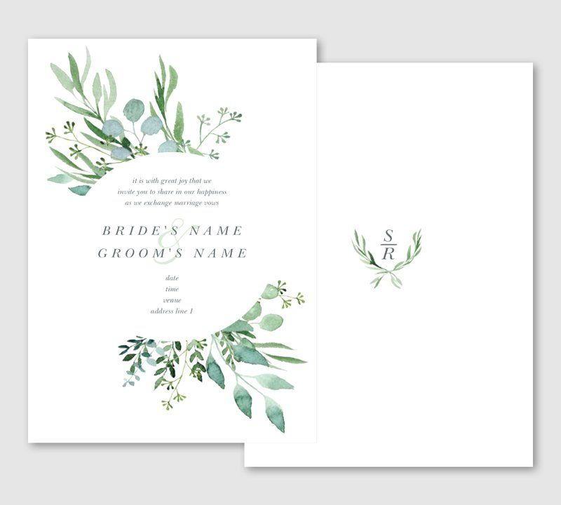 vistaprint wedding invitation  vista print wedding