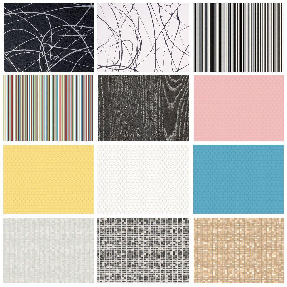 Bubblegum Liquorice Funky Vinyl Flooring Striped Pattern Kitchens Bathrooms Vinyl Flooring Patterned Vinyl Carpet Underlay