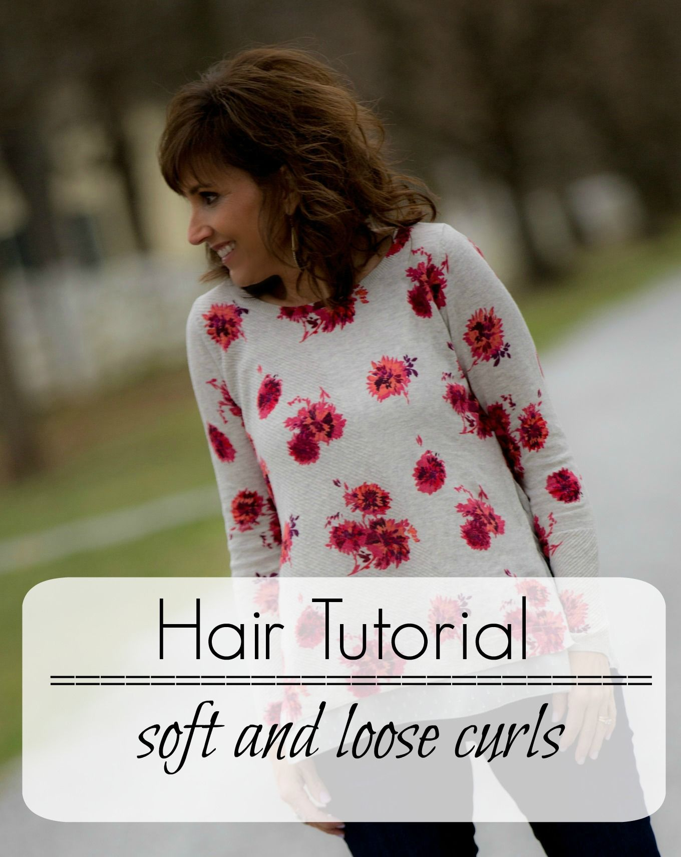 How To Add Soft Curls To Your Hair - Cyndi Spivey