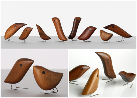 Jacob Hermann Birds 1950s See More Mid Century Designs Clicking On The Image