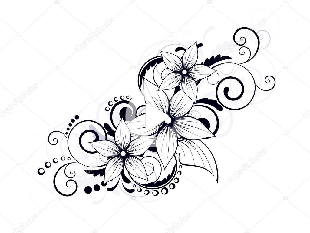 39+ Dessin fleur dhibiscus pour tatouage inspirations