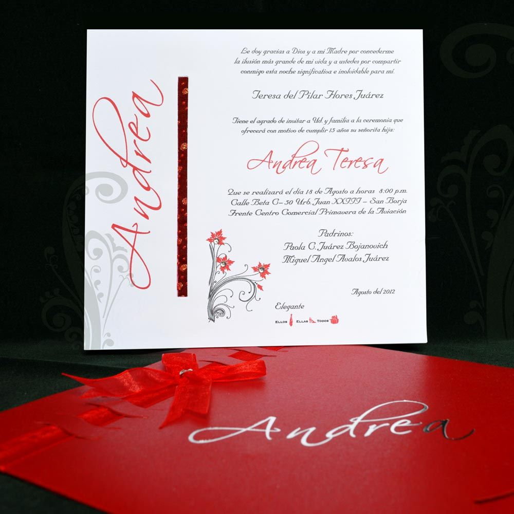 Pin by Zurishka Rodriguez on invitaciones para quinsañero | Pinterest