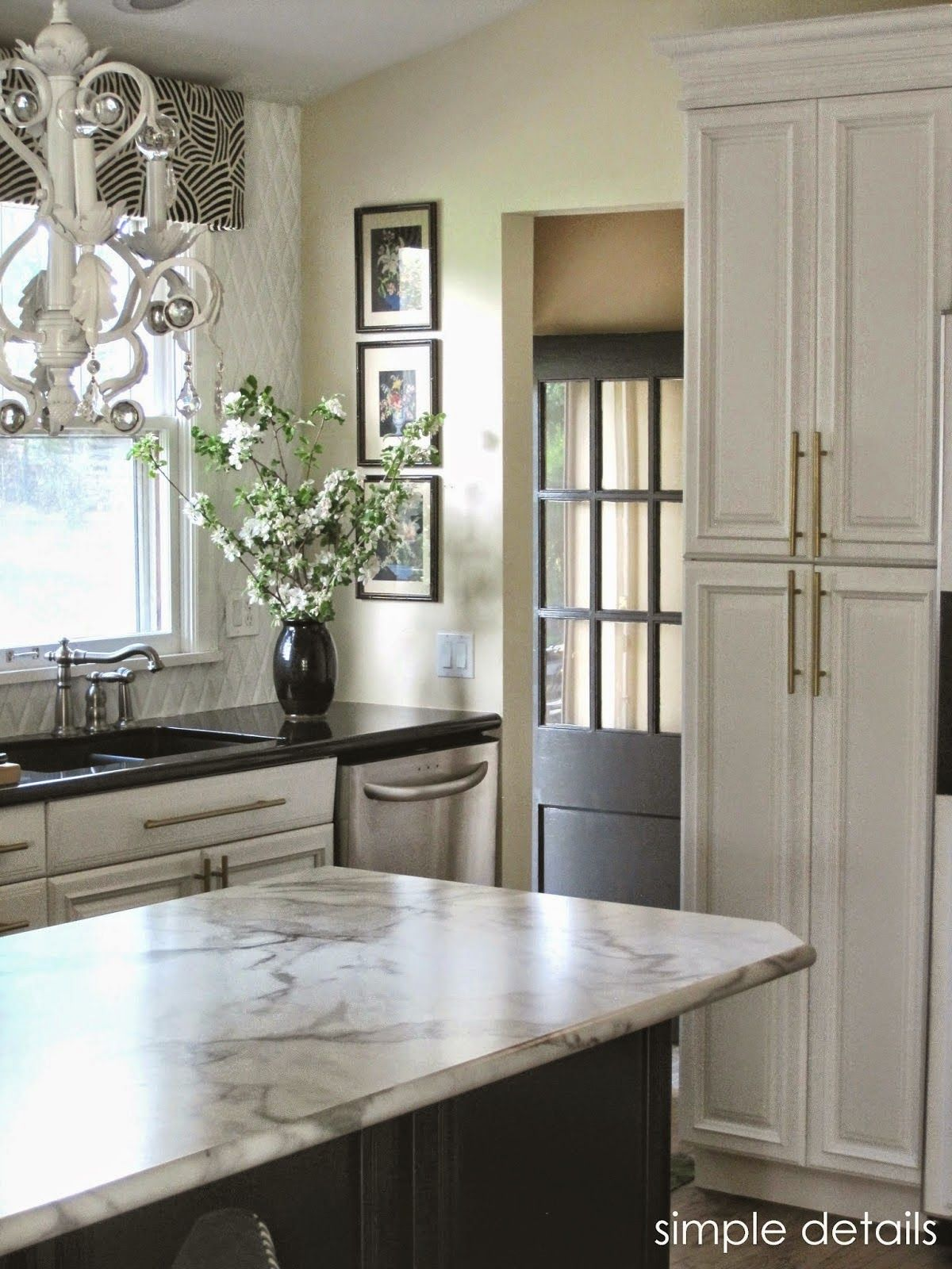 Formica Calacatta Marble Review What Sealed The Deal Was Availability Of Idealedge It Mimics Decorative Ogee And Bullnose Profiles Found On