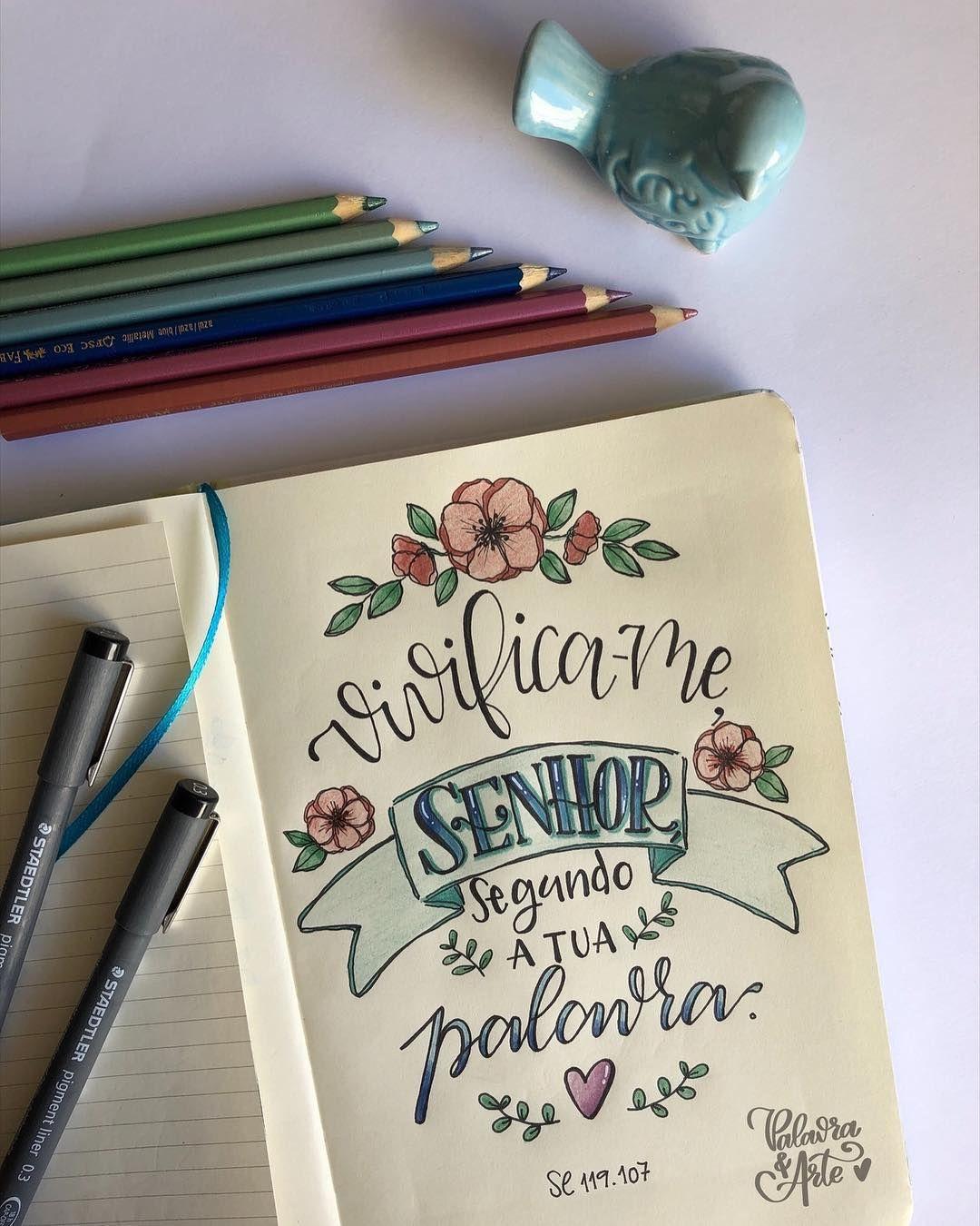 Pin Em Lettering Biblico