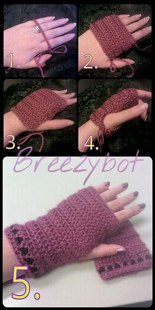 Photo of 30 crochet gloves & mittens pattern
