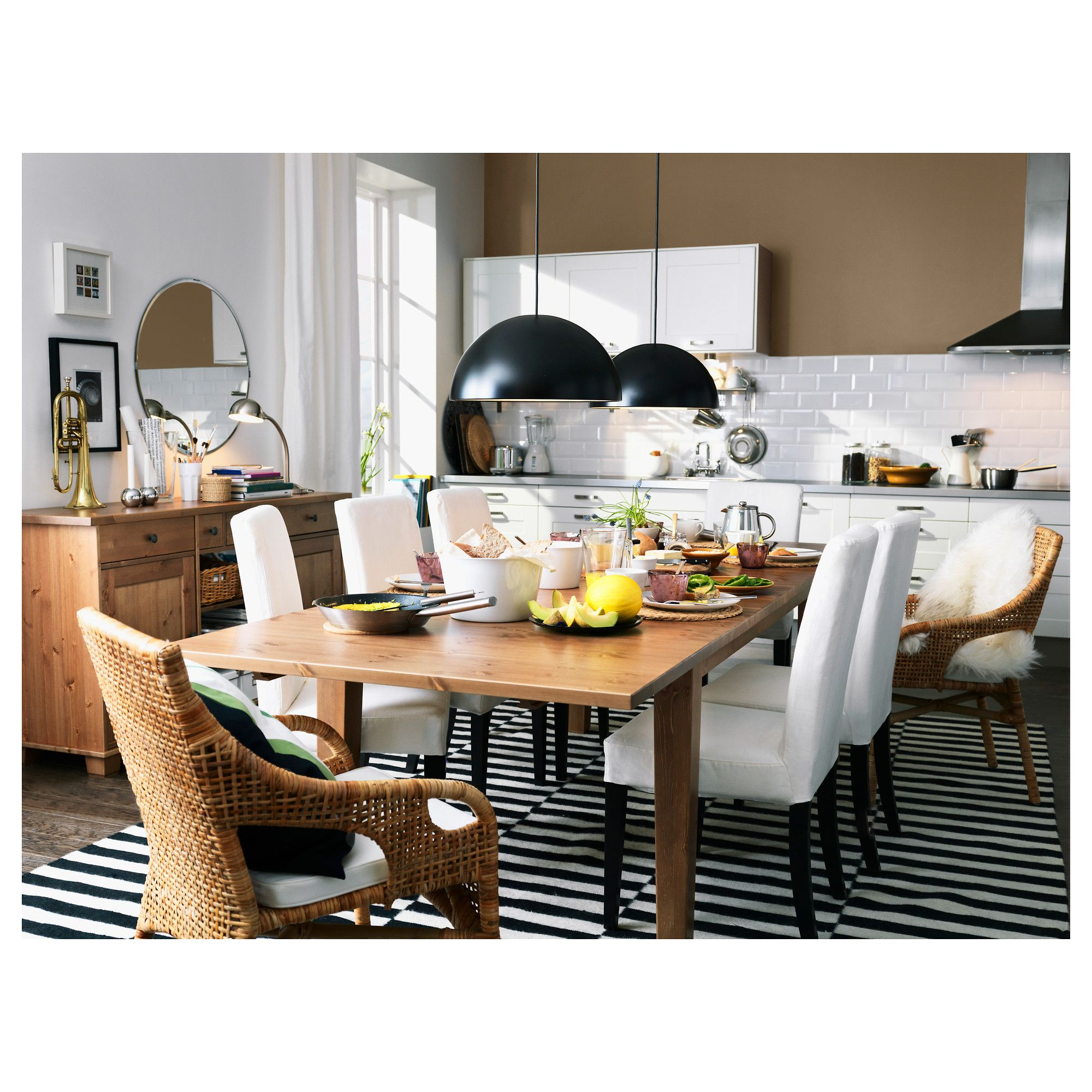 أجمل الأوقات هي تلك التي نقضيها مع العائلة مجتمعين حول مائدة الطعام Ikea Dining Ikea Dining Room Dining Room Table [ 2000 x 2000 Pixel ]