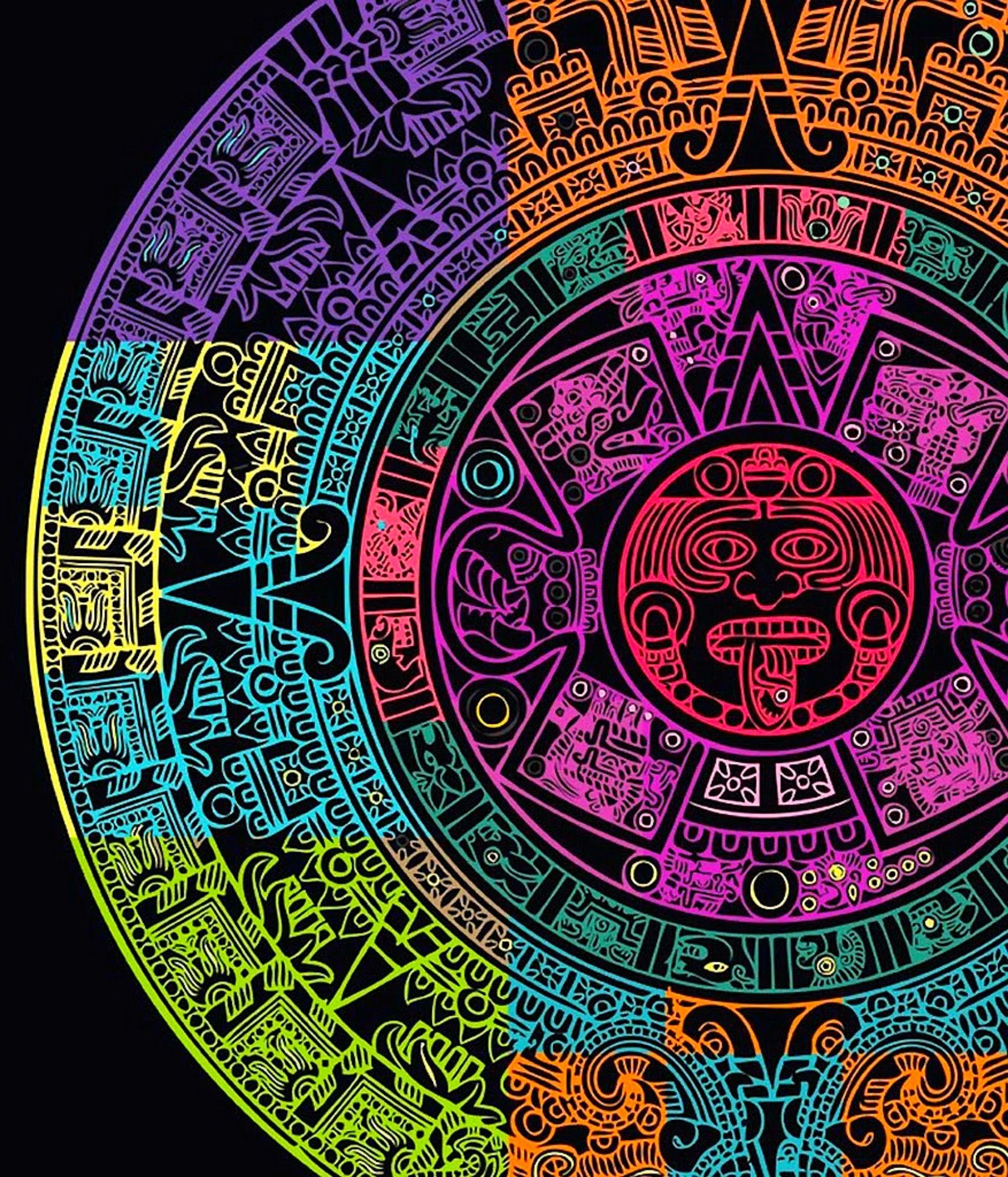 Mayan art image by Viktor Adamsky on Wallpapers Aztec