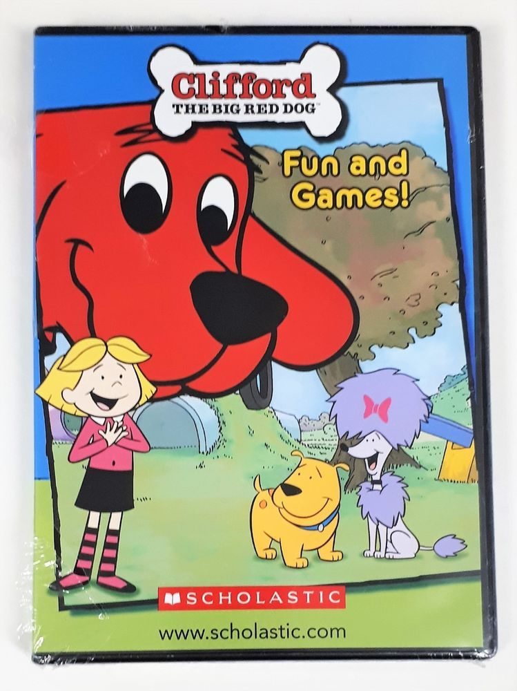29a814795a82b Clifford The Big Red Dog ~ Fun And Games! DVD-ROM ~ Promo Phonics Sampler -  New #Scholastic