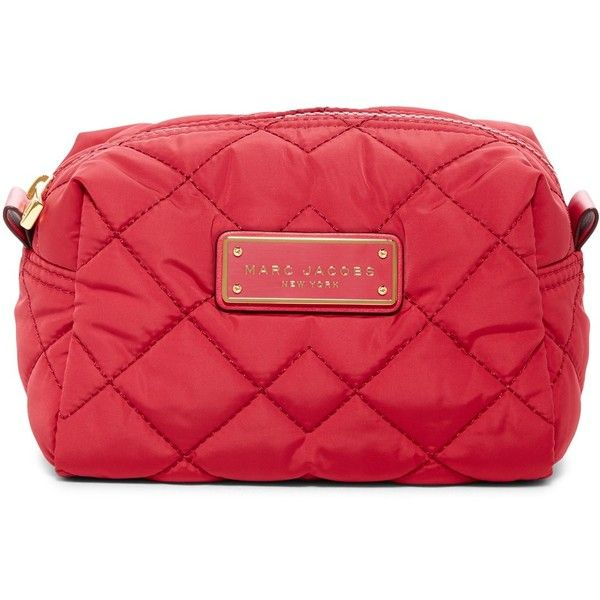 59db5824a786 Marc by Marc Jacobs Quilted Nylon Large Cosmetic Case ( 45) ❤ liked on  Polyvore