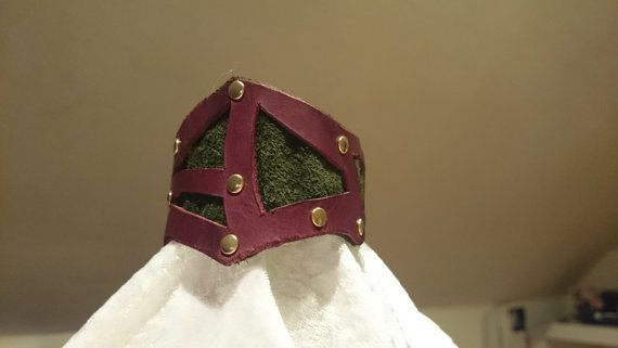Silhouette Leather Give Me Thorns by ClockworkFirebird on Etsy