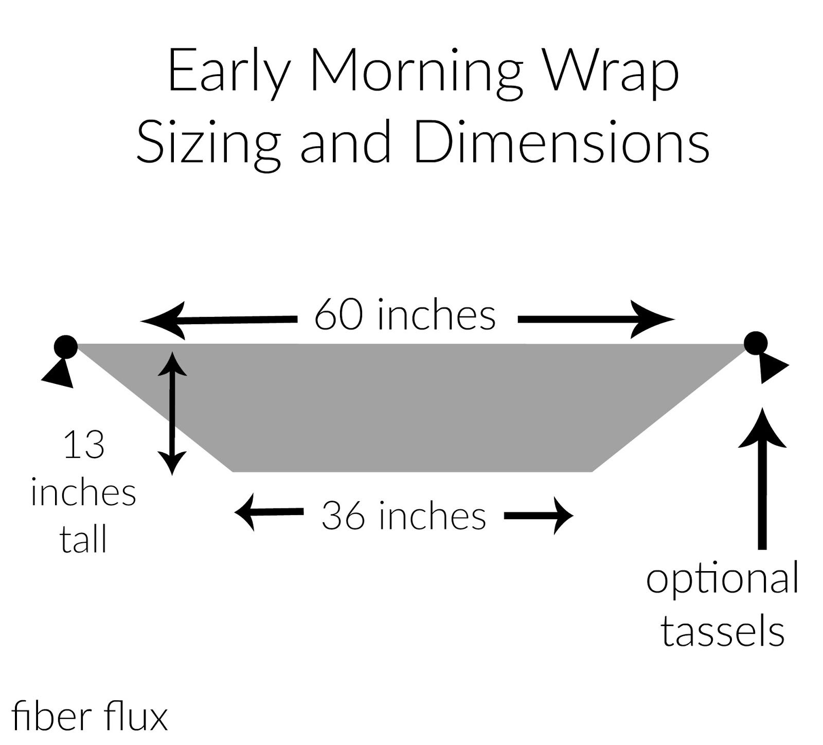 Free Crochet Pattern...Early Morning Wrap! | Shawls by Marcela ...