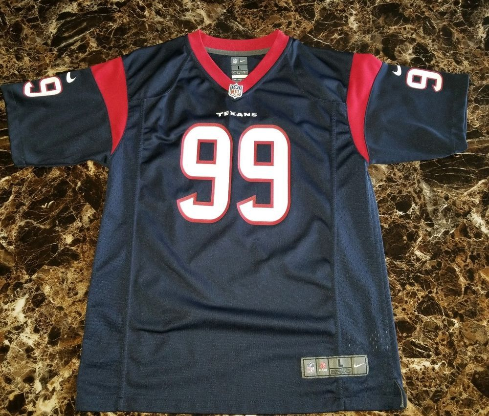 8a41ced7cea italy nike jj watt youth l football jersey houston texans large nfl  excellent 19.99 end date