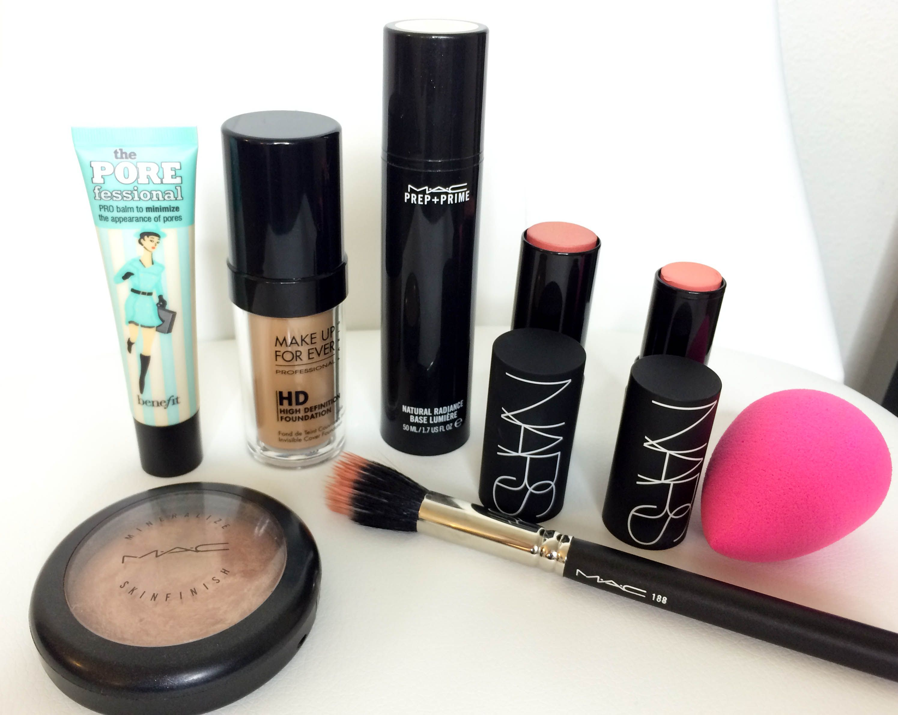 Summer Makeup for Flawless Foundation NARS, MC, Beauty