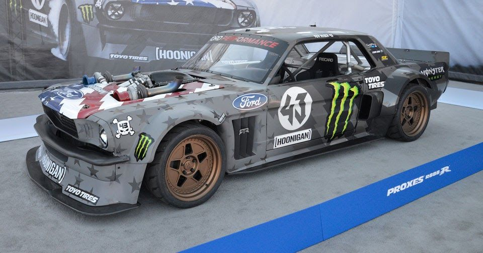 Ken Block And Ryan Tuercks Insane Drift Cars Pose At SEMA