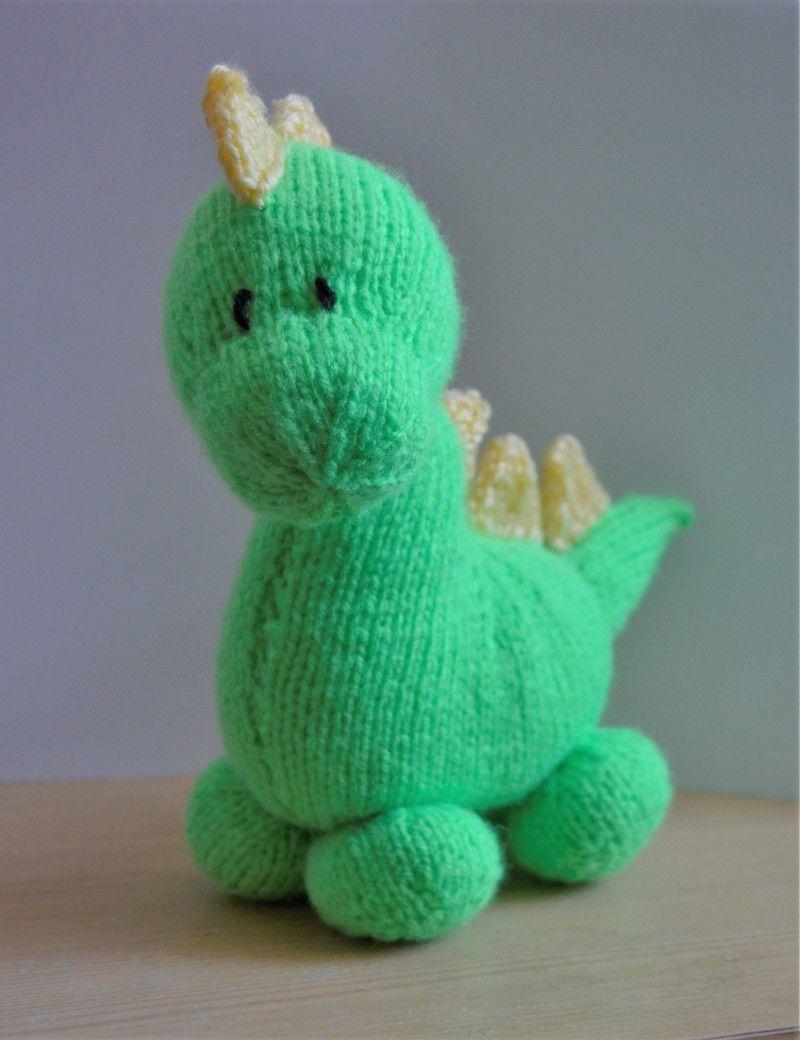 Dinosaur knitting pattern knitwit pinterest knitting dinosaur knitting pattern bankloansurffo Images