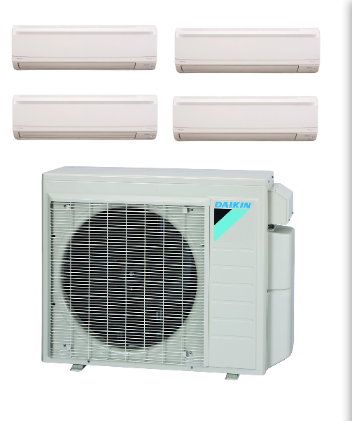 Daikin 4 Zone Mini Split in Shop