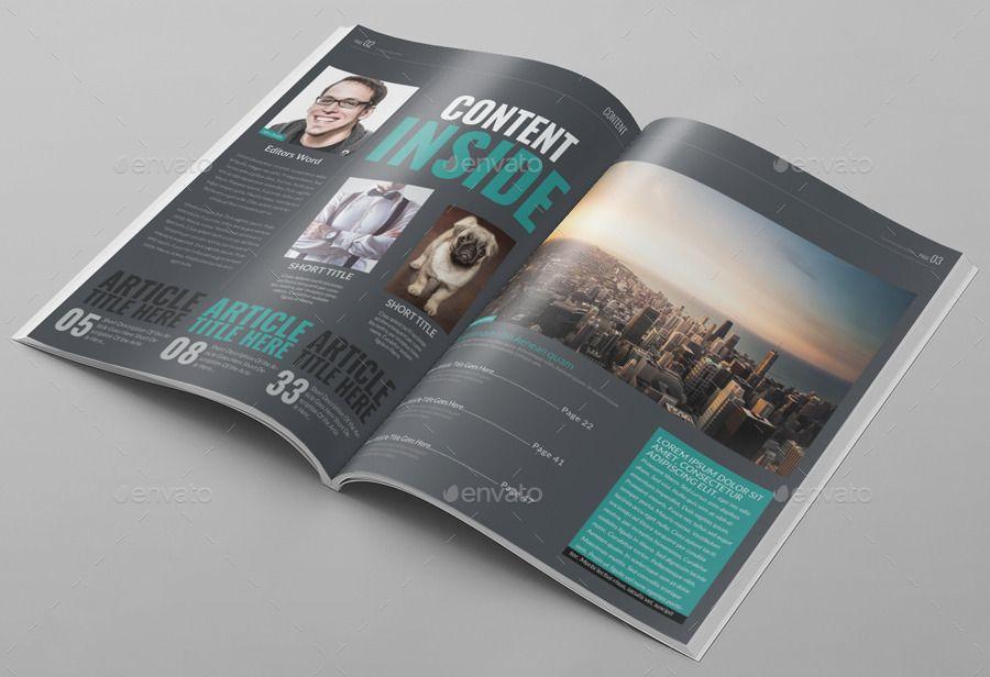 10 Best Art Magazine Templates Photoshop Psd And Indesign Magazine Art Magazine Layout Yearbook Layouts