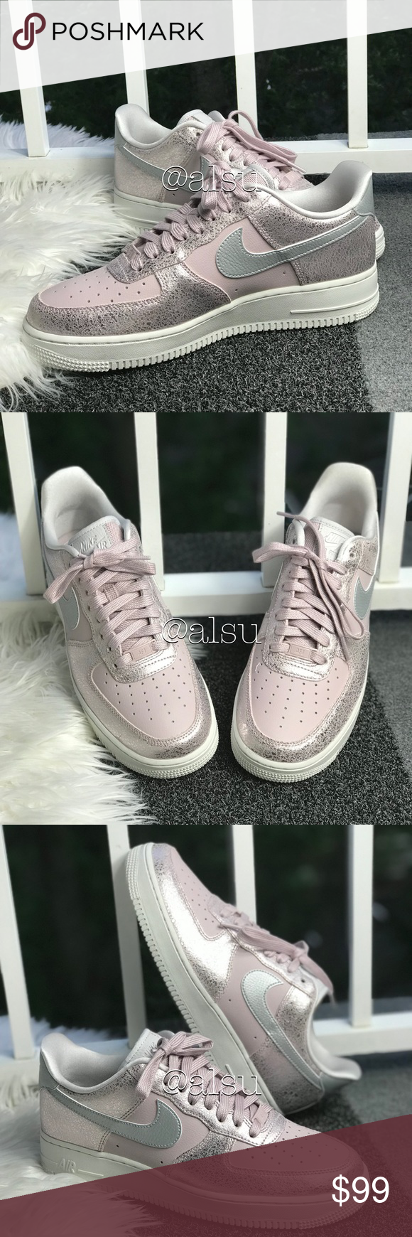 NWT Nike Air Force 1'07 PRM Particle Rose WMNS Brand new