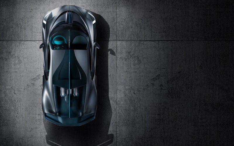 Wallpaper Top View 2018 Bugatti Divo Supercar Super Cars