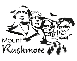 Image Result For Mount Rushmore Line Drawing United States Symbols Line Drawing Drawings
