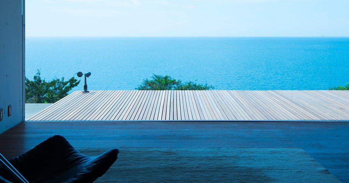 小屋場 只只 山口県は瀬戸内海 人間魚雷 回天 の大津島の地に この空間は生まれました 一日一組だけの小さな平屋と茶小屋です 季節毎に変わる夕陽を眺めノスタルジックなひとときを 屋内プール 一休 露天 風呂 付 客室