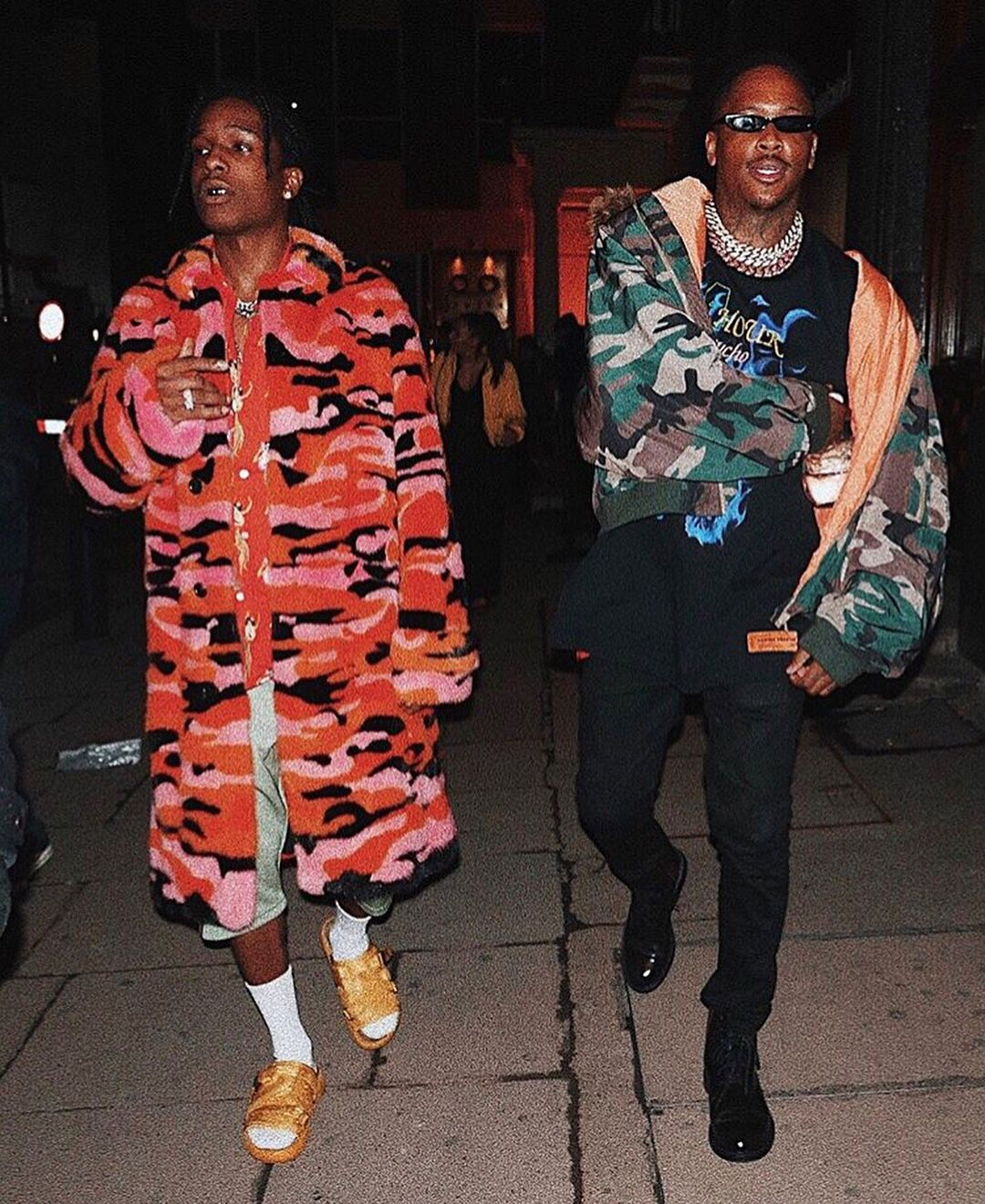 564d3692 In London over the weekend, A$AP Rocky stepped out with YG in a 'fit that's  getting us even more excited for spring. See it here.