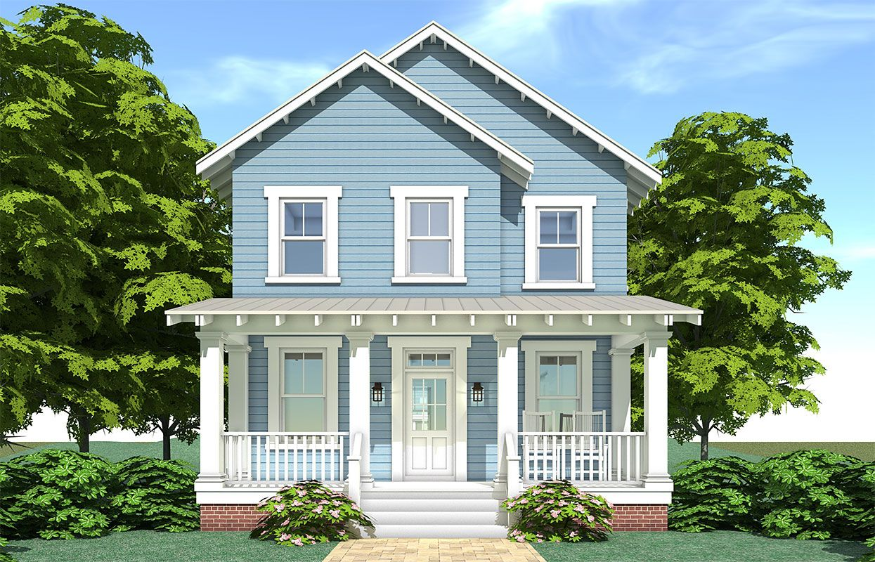 Fogel Lane Coastal Home Plans In 2020 Two Story House Plans Farmhouse Plans House With Porch