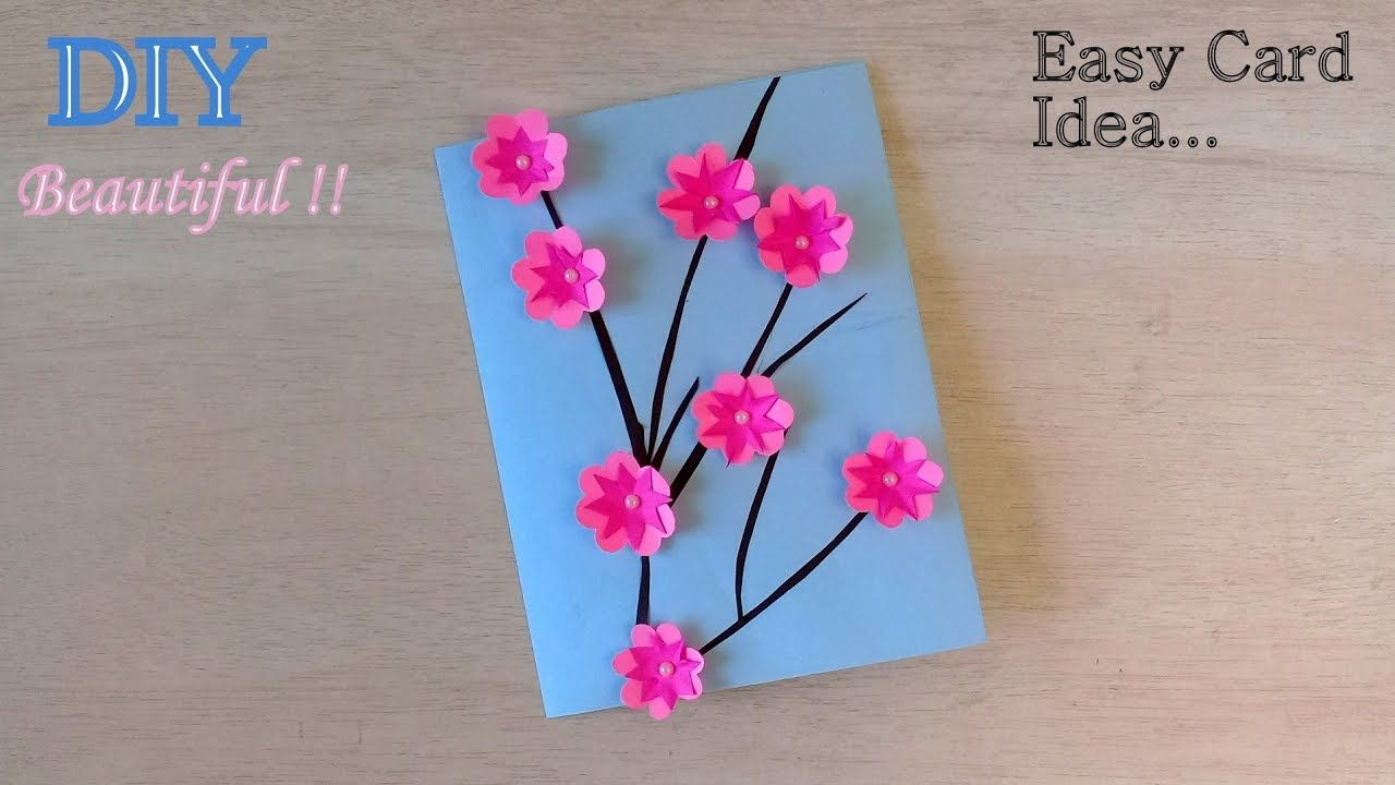 Very Easy Teachers Day Card Diy Handmade Card For Teacher Teachers Day Card Teachers Day Greeting Card Handmade Cards Diy