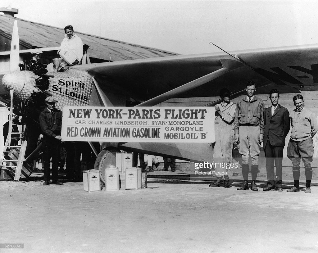 90 Years Ago Charles Lindbergh Makes NonStop Solo