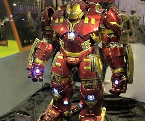 Iron Man Hulkbuster Figure  Complete your collection of Iron Man suits by acquiring the elusive Hulkbuster figure.With a thick exo-skeleton designed to do battle against the strongest foes in the Marvel galaxy this 1/6 scale figure is the ultimate collectible for any comic book fan.  $824.99  Check It Out  Awesome Sht You Can Buy