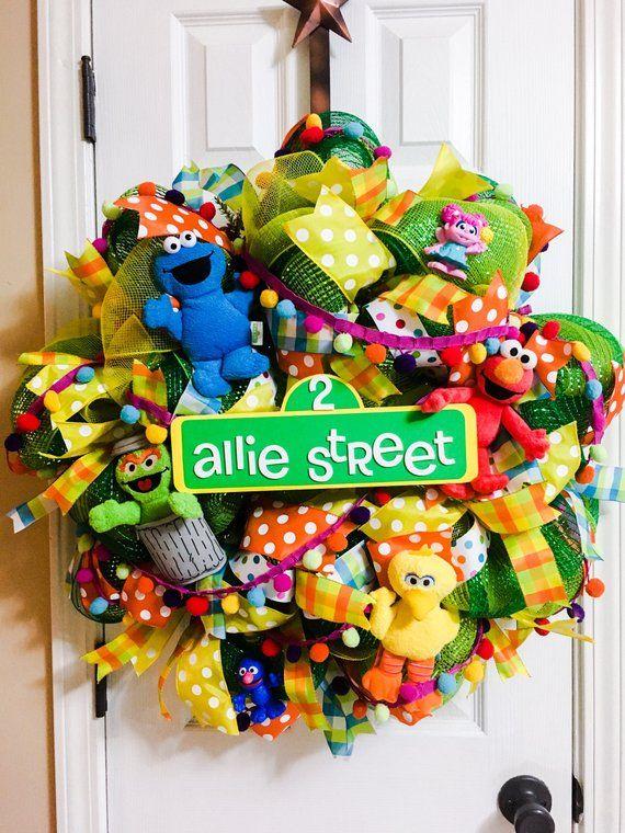 Sesame Street Christmas 2019 Sesame Street Wreath in 2019 | Products | Sesame street