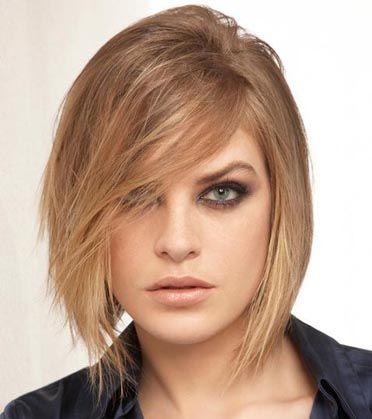 Coupe de cheveux carre court pour cheveux fins