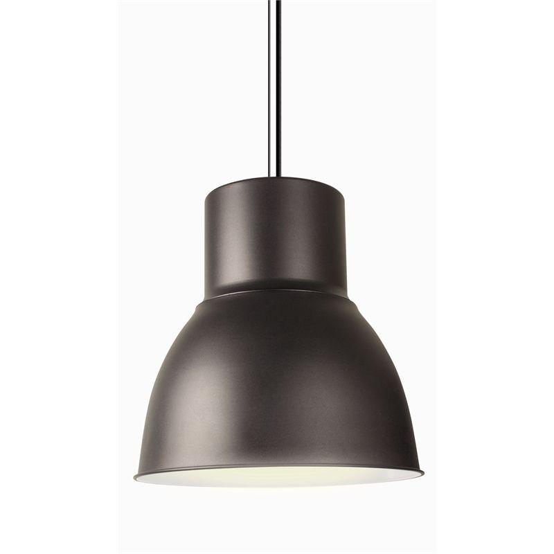 Find Brilliant 240v 47cm Hugo Charcoal Light Pendant at