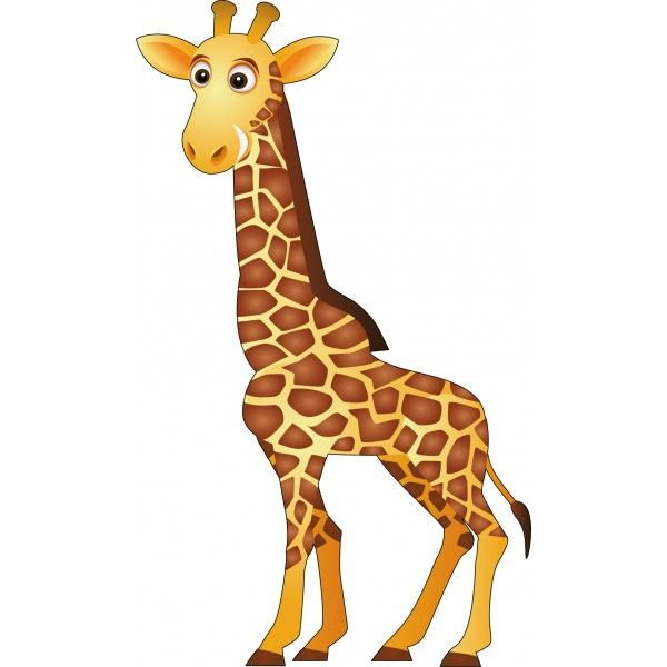 Image girafe jungle safari zoo pinterest - Dessins girafe ...