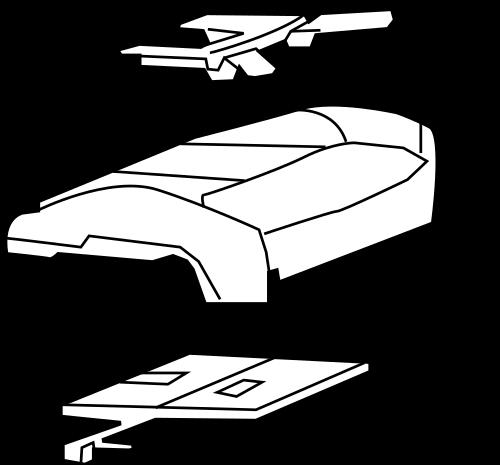 Cadillac Air Bag Seat Sensor Mat Occupant Module Part 25886107