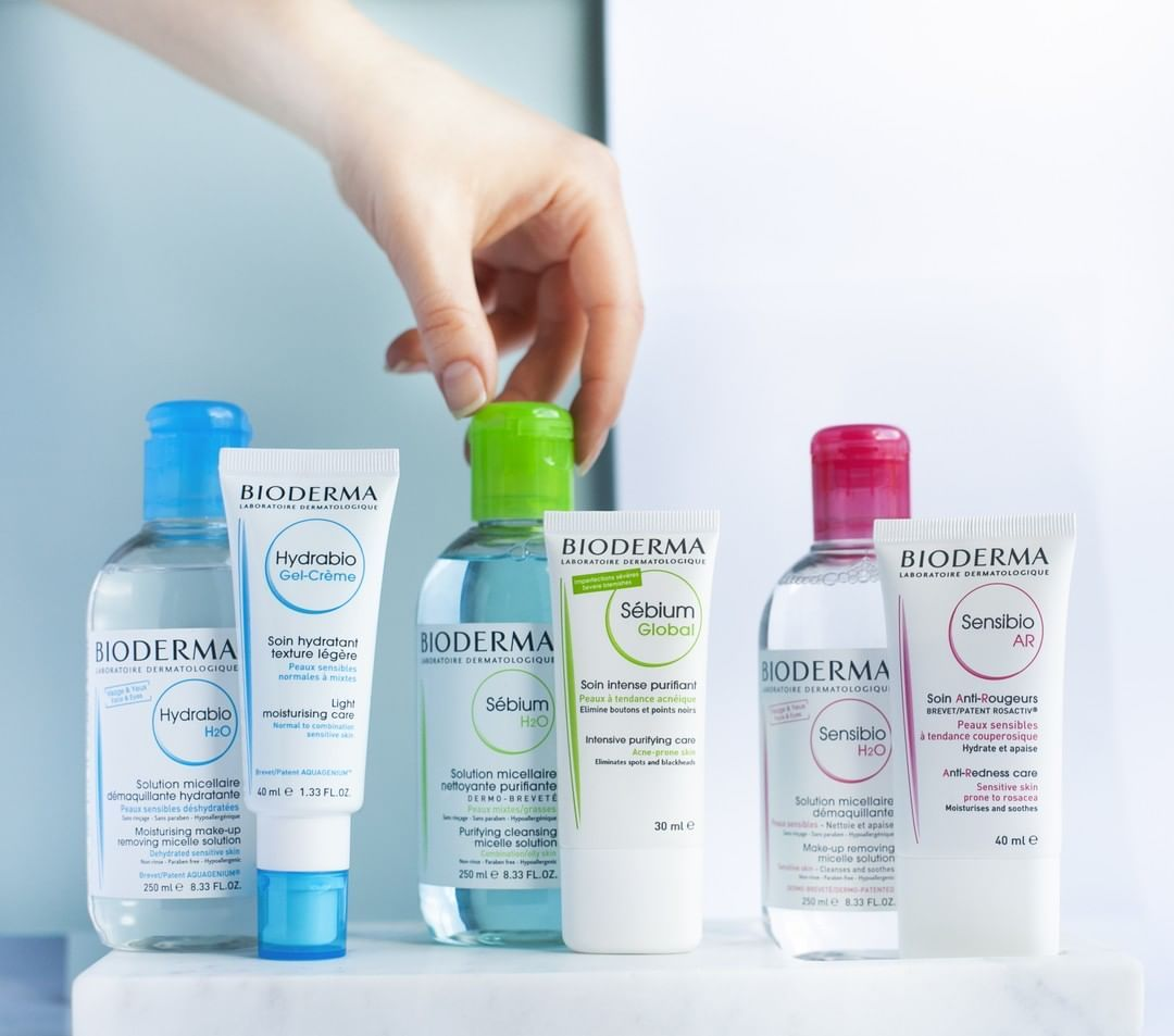 Confused About Which Skincare Is Right For You Bioderma Offers Skincare Carefully Formulated For Each Skin Type Pink Sens Bioderma Skin Care Baby Skin Care
