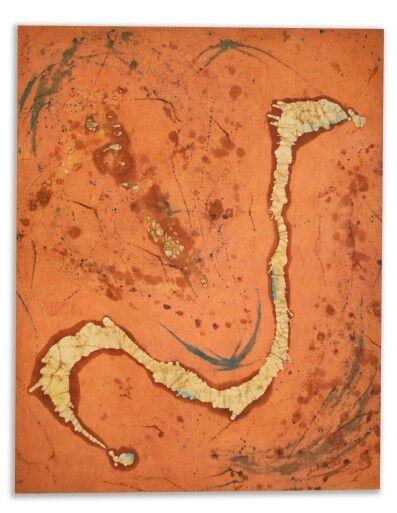Title: Navajo II.     Batik on canvas     #batikart