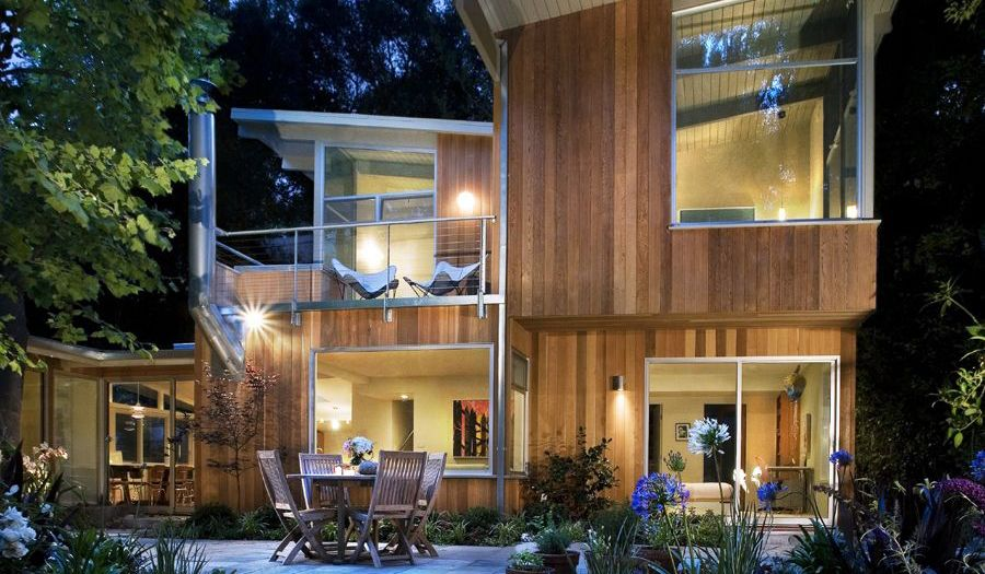 Korman Residence by the studio Cory Buckner Architects @ Brentwood, California, USA.