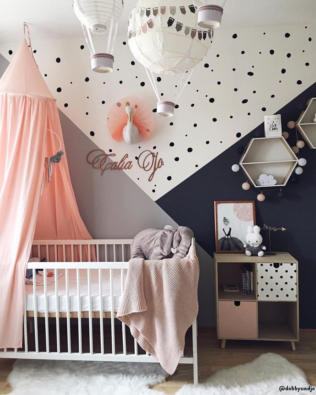Il sogno di ogni bambino 💘 Una cameretta decorata con