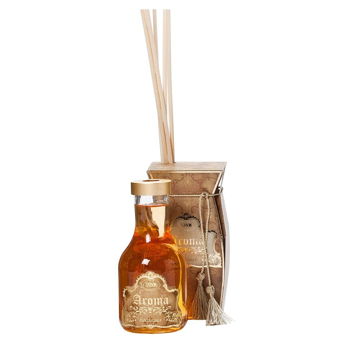 sabon's aroma reed diffuser in aroma reed diffuser (bordeaux