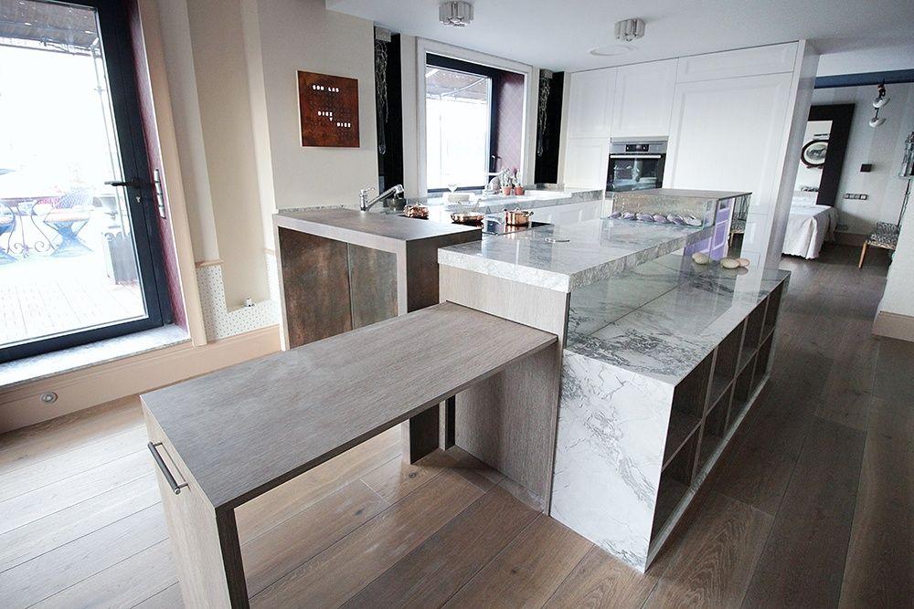 Resultado de imagen de mesa extraible cocina | COCINA | Pinterest ...